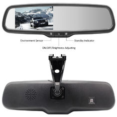 "4.3"" LCD Car Rear View Mirror Monitor 285*85*30mm Dimension With Bracket #1"